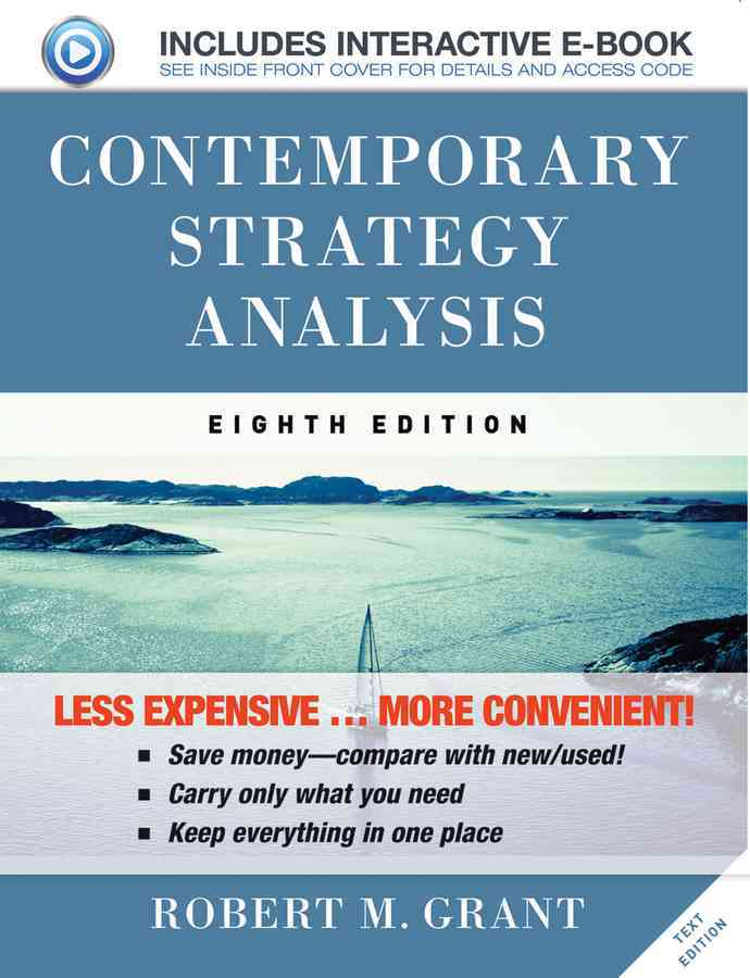 Contemporary Strategy Analysis By Grant, Robert M.